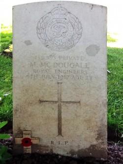 McDougall Gravestone